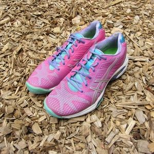Asics Gel Selection Pink Purple Running Shoes